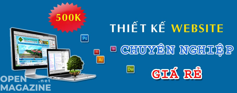 Thiết kế website giá 500k