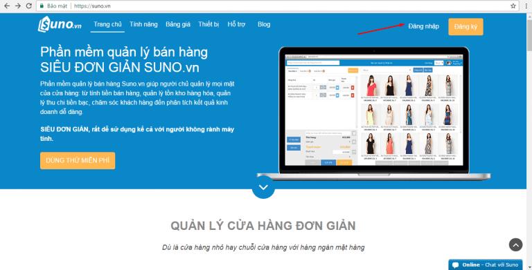 Phần mềm Suno giúp quản lý những đơn hàng chuyên nghiệp