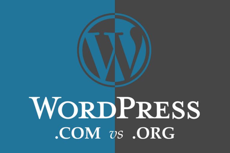 Khác nhau giữa wordpress .com và wordpress org