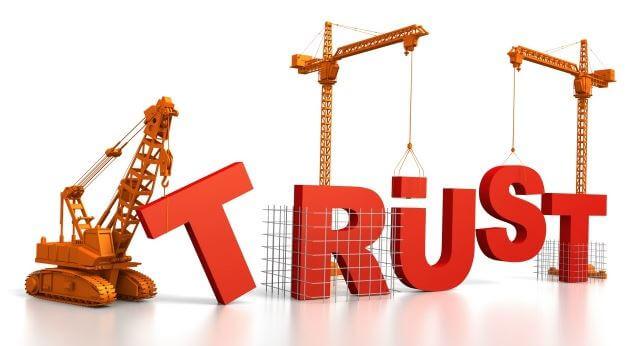 Tạo niềm tin với khách hàng