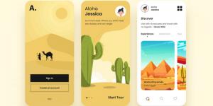 xu hướng thiết kế giao diện app