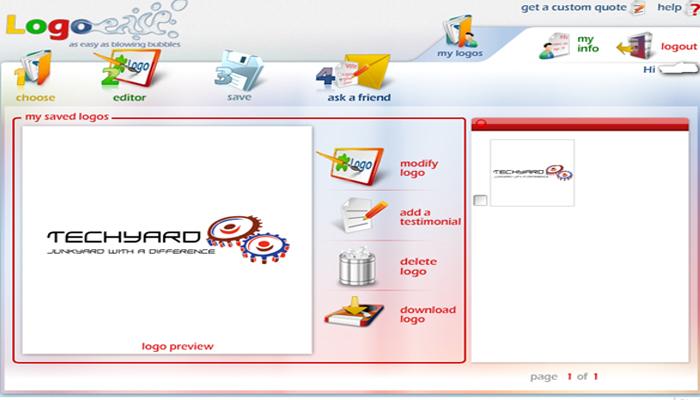 Phần mềm thiết kế logo miễn phí cho người không chuyên - Logo Ease